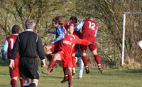 Final defensive action for Hempnall