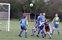 Concern in the Dersingham defence