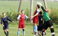 Beccles keeper wins out