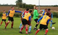 More action in the Cromer penalty area