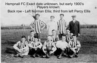Hempnall FC early 1900's