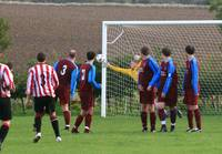 Fine free kick but lucky to gett it