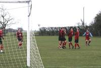 Barrett fires in a free kick
