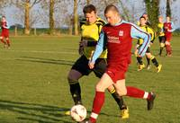 Hempnall player surges forward