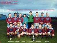 Winners Bungay Charity Cup on 3rd May 1991 v Norto