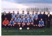 Squad with Richard Delf, team sponsor