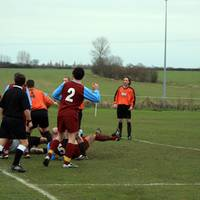 The resulting confusion in the Sprowston defence f