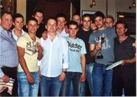 Reserves squad Presentation May 2006 with Manager