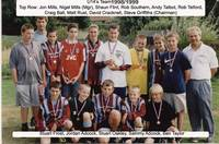 U14's team 1998/1999 - a few still play for Hempna
