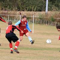 Willimott decides to take on four Cromer defenders