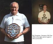 Ray Youngman Secretary of the Year two occasion